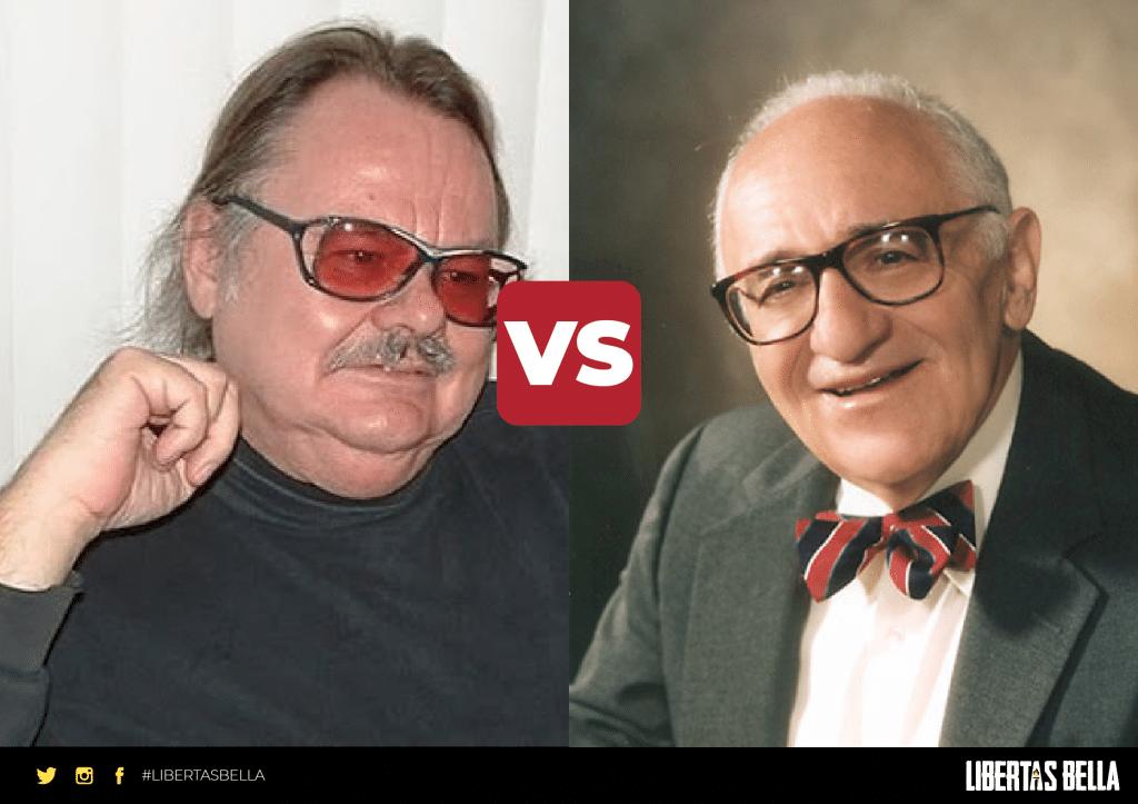 Agorism vs anarcho capitalism - Samual Edward Konkin vs. Murray Rothbard