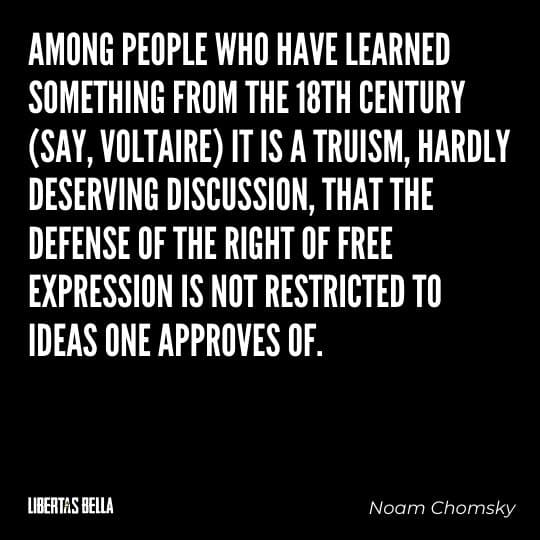 """Censorship Quotes - """"Among people who have learned something from the 18th century (say, Voltaire) it is a truism..."""""""