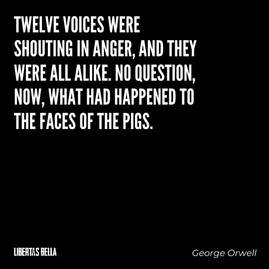 """1984 Quotes - """"Twelve voices were shouting in anger, and they were all alike. No question..."""""""