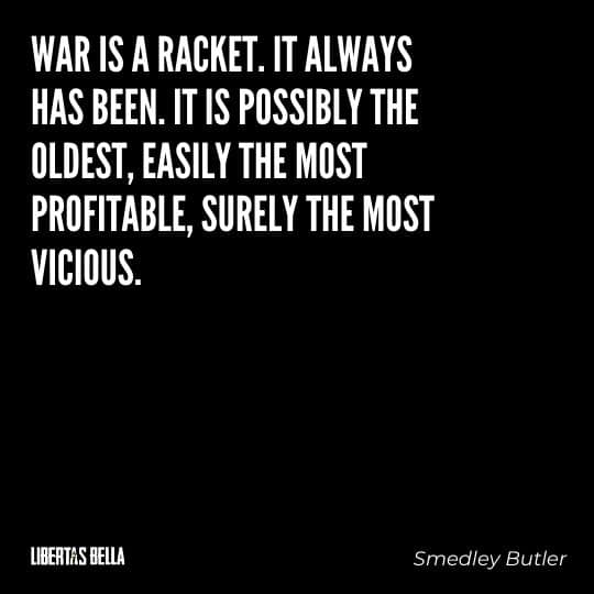 """Smedley Butler Quotes - """"War is a racket. It always has been. It is possibly the oldest, easily the most profitable..."""""""
