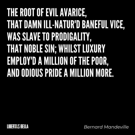 """Greed quotes - """"the root of evil Avarive, that damn ill-nature'd..."""""""