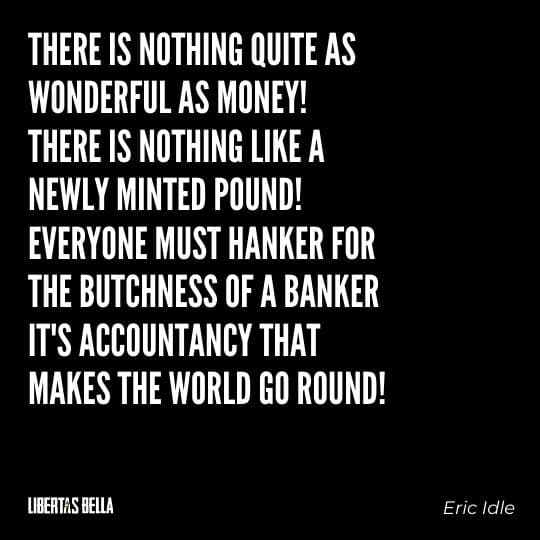 """Greed quotes - """"""""There is nothing quite as wonderful as money!..."""""""