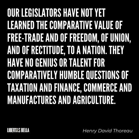 """Civil disobedience quotes - """"Our legislators have not yet learned the comparative value of..."""""""