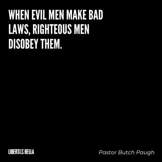 """Civil disobedience quotes - """"When evil men make bad laws, righteous..."""""""