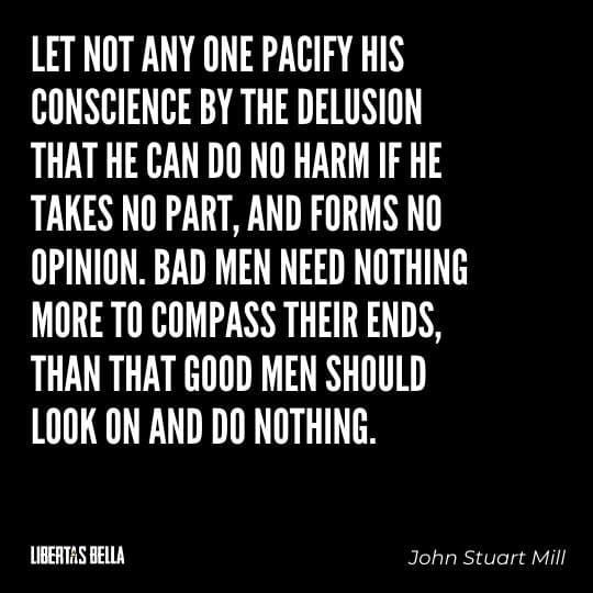 """Civil disobedience quotes - """"Let not any one pacify his conscience by the delusion..."""""""