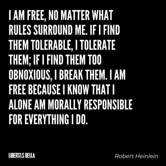 """Civil disobedience quotes - """"I am free, no matter what rules surround me. If I find...."""""""