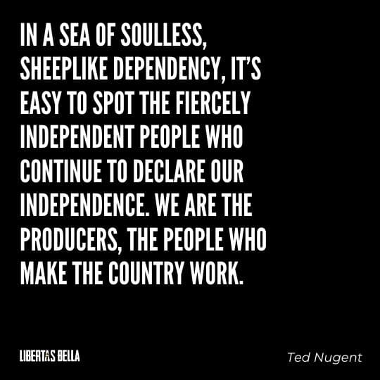 """individuality quotes - """"In a sea of soulless sheeplike dependency, it's easy to spot..."""""""