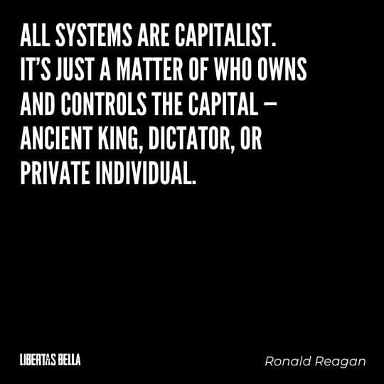 """Capitalism quotes - """"All systems are capitalist. It's just a matter of who owns and controls the capital..."""""""