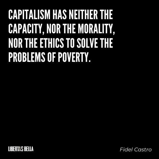 """Capitalism quotes - """"Capitalism has neither the capacity, nor the morality..."""""""