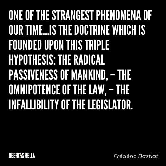 """Frederic Bastiat Quotes - """"One of the strangest phenomena of our time..."""""""